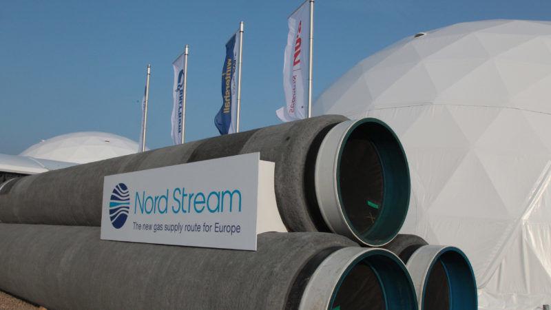 Rury gazociągu Nord Stream