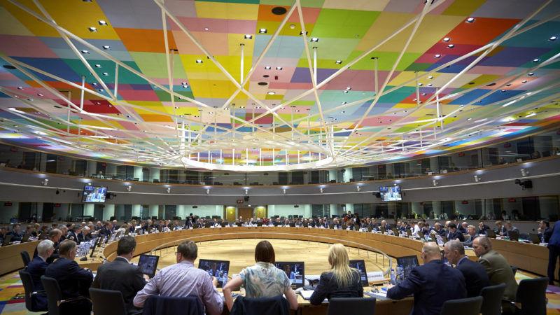 Spotkanie Rady UE