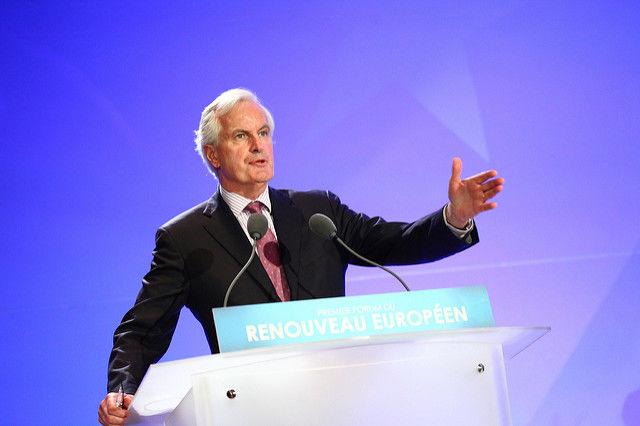 Michel Barnier, główny unijny negocjator ds. Brexitu // Źródło: flickr.com