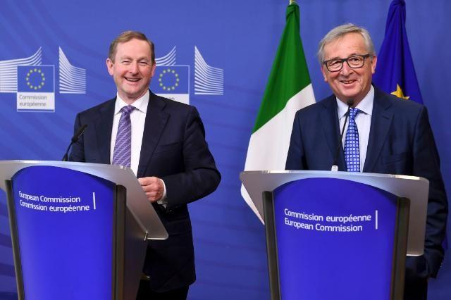 Enda Kenny i Jean-Claude Juncker