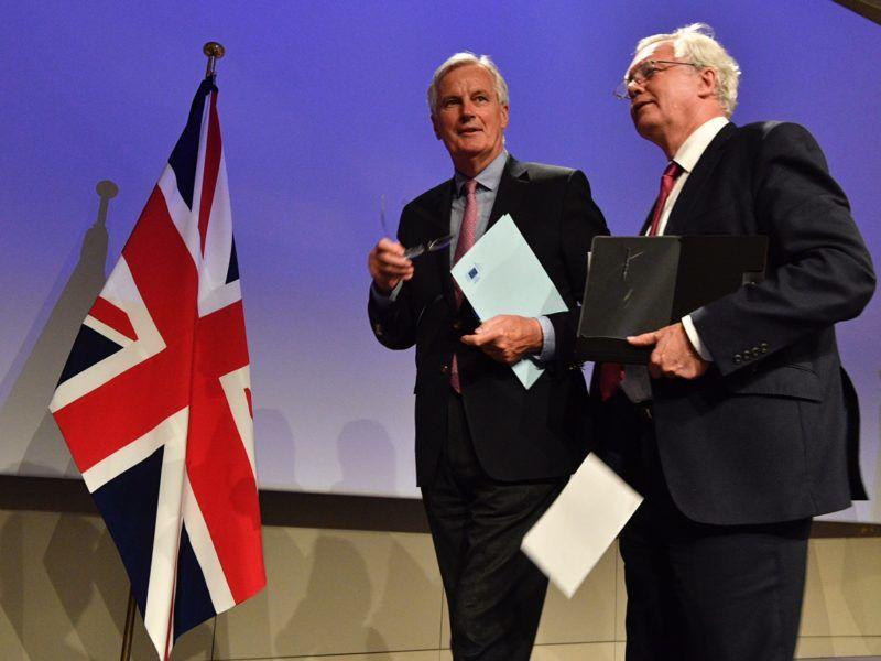 Negocjacje Brexitu