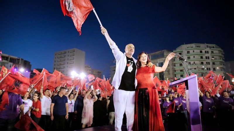 Premier Albanii Edi Rama