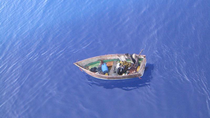 Łódka uchodźców Christa SaysWhat