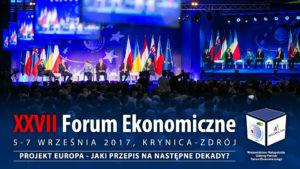 XXVII Forum Ekonomiczne w Krynicy