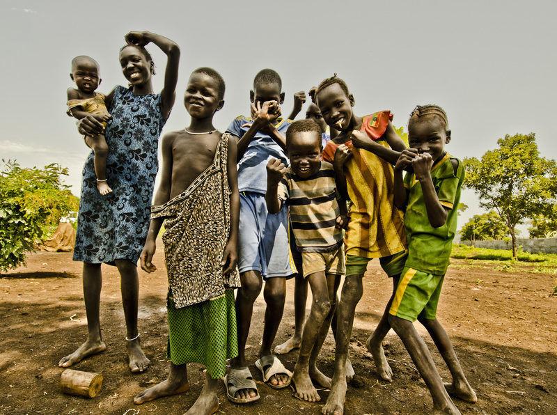 Mali uchodźcy z Sudanu Południowego w Obozie dla Uchodźców Nguenyyiel w Etiopii 29 lipca 2017. Fot. Rikka Tupaz - Międzynarodowa Organizacja ds. Migracji IOM