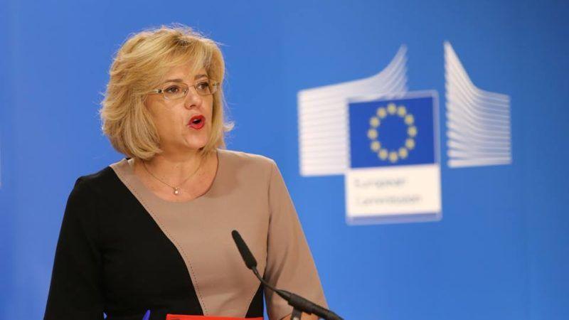 Corina Cretu, unijna komisarz ds. polityki regionalnej
