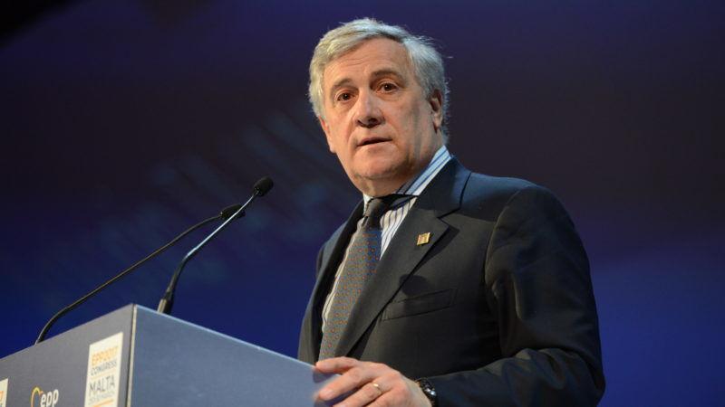 Przewodniczący Parlamentu Europejskiego Antonio Tajani, źródło: Flickr