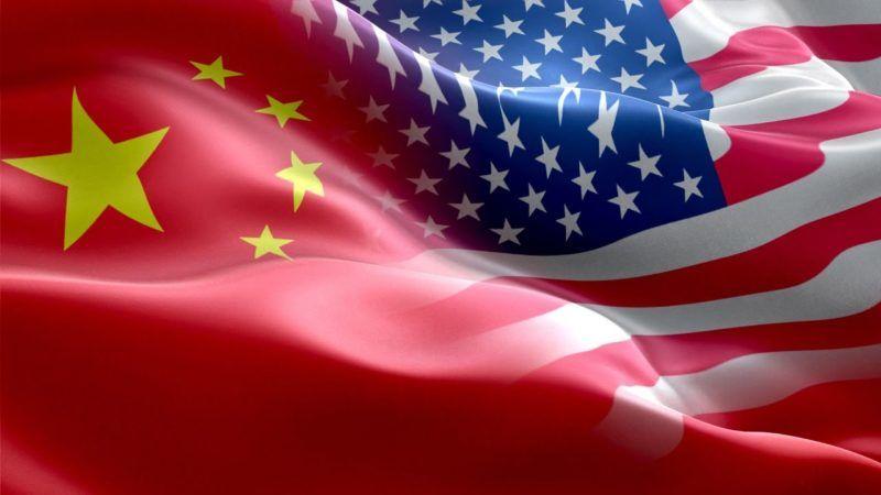 Flaga USA i Chin