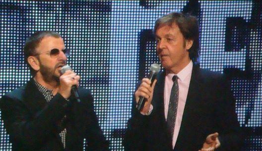 Ringo Starr i Paul McCartney, źródło Wikipedia