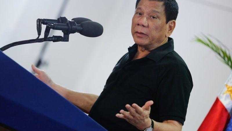 Prezydent Filipin Rodrigo Duterte, źródło Wikipedia