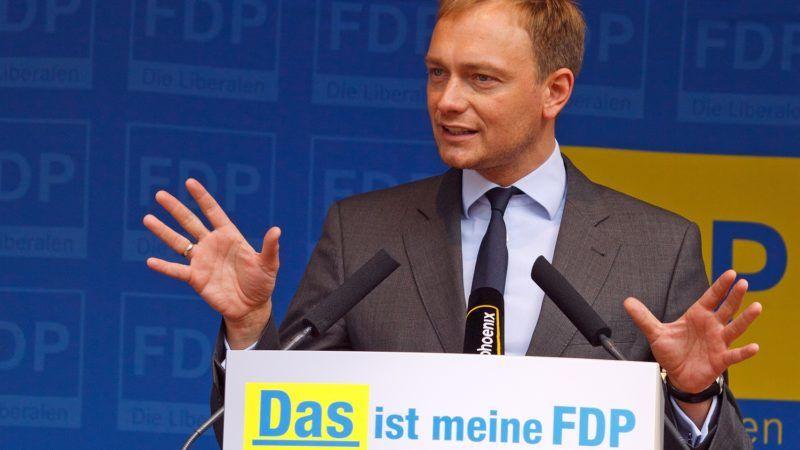 Przewodniczący FDP Christian Lindner, źródło Wikipedia