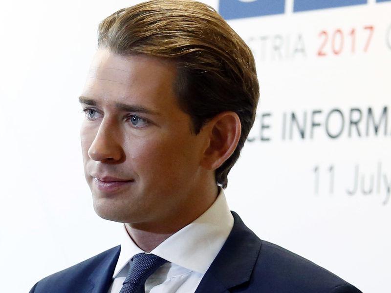 Przewodniczący Partii Ludowej Sebastian Kurz, źródło Wikipedia
