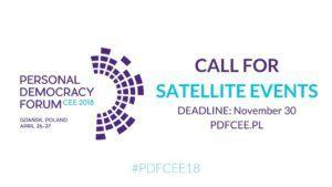 Personal Democracy Forum CEE 2018 @ Plac Solidarności 1