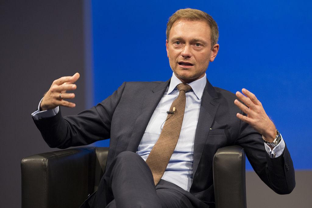 Przewodniczący partii FDP Christian Lindner, źródło Flickr