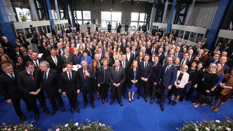 Uczestnicy społecznego szczytu UE w Göteborgu, źródło Rkbildarkiv.se
