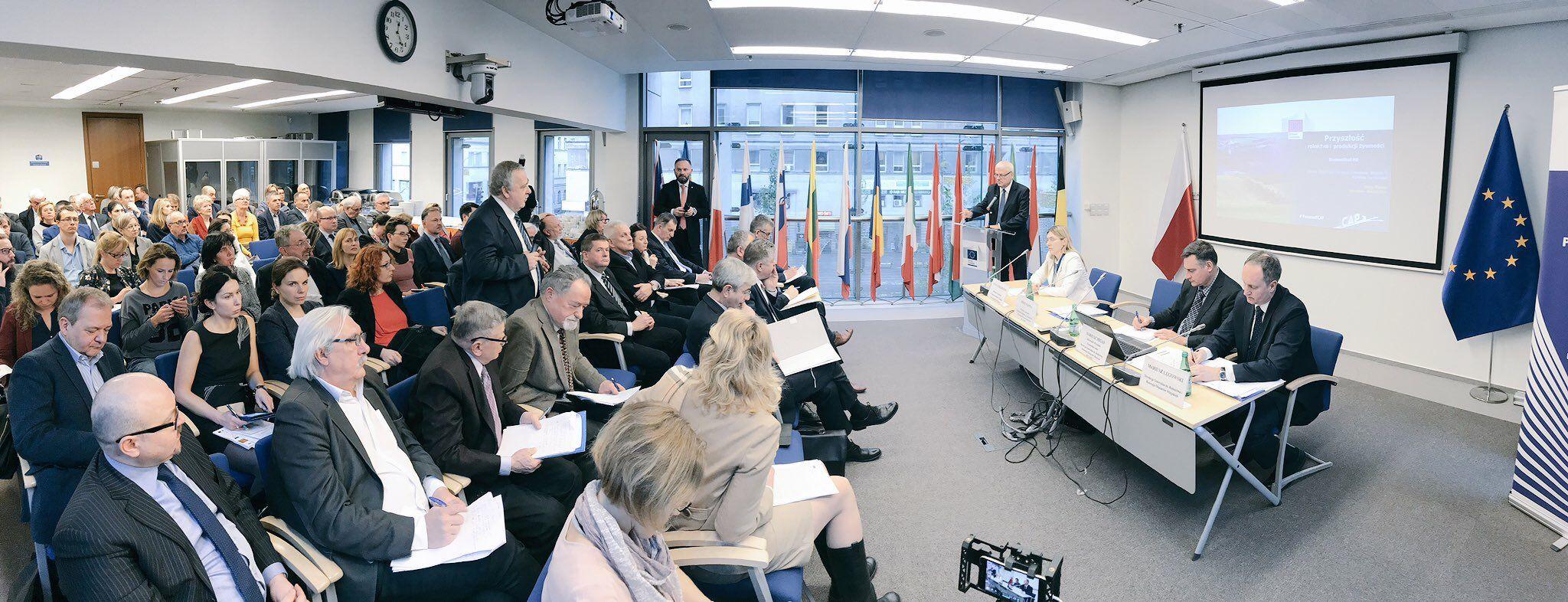 Prezentacja komunikatu KE ws. nowej Wspólnej Polityki Rolnej w Przedstawicielstwie Komisji Europejskiej w Warszawie