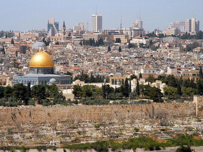 Panorama Jerozolimy, źródło Wikipedia
