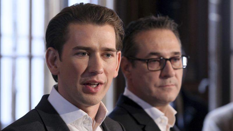 Sebastian Kurz i Heinz-Christian Strache, źródło: Wikipedia