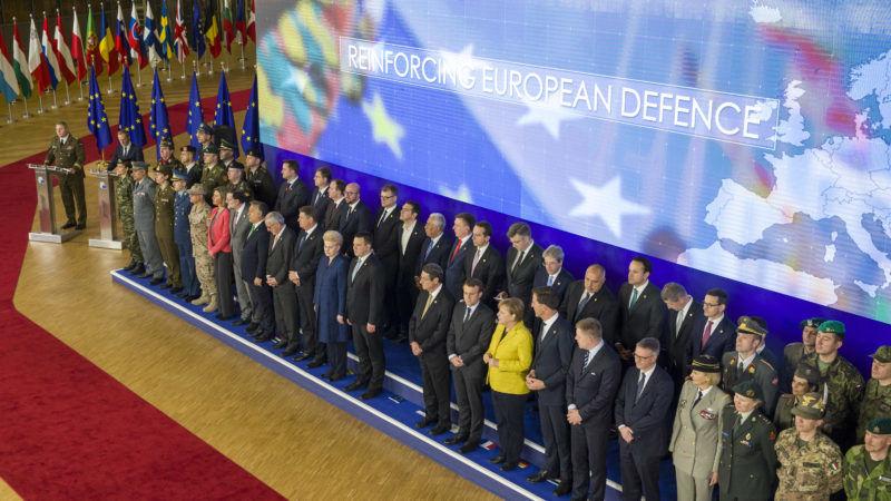 Uczestnicy rozmów nt. inauguracji PESCO, źródło Rada Europejska